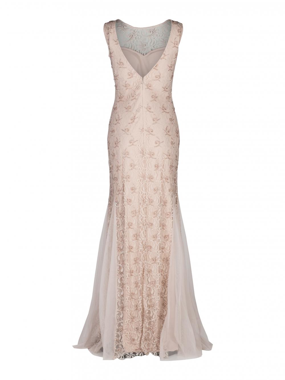 d6572321f656 Långklänning Spets från Swing - handla i butik eller online hos Modevi